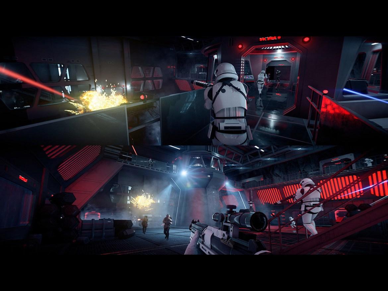 The best split screen PS4 games: star wars battlefront ii