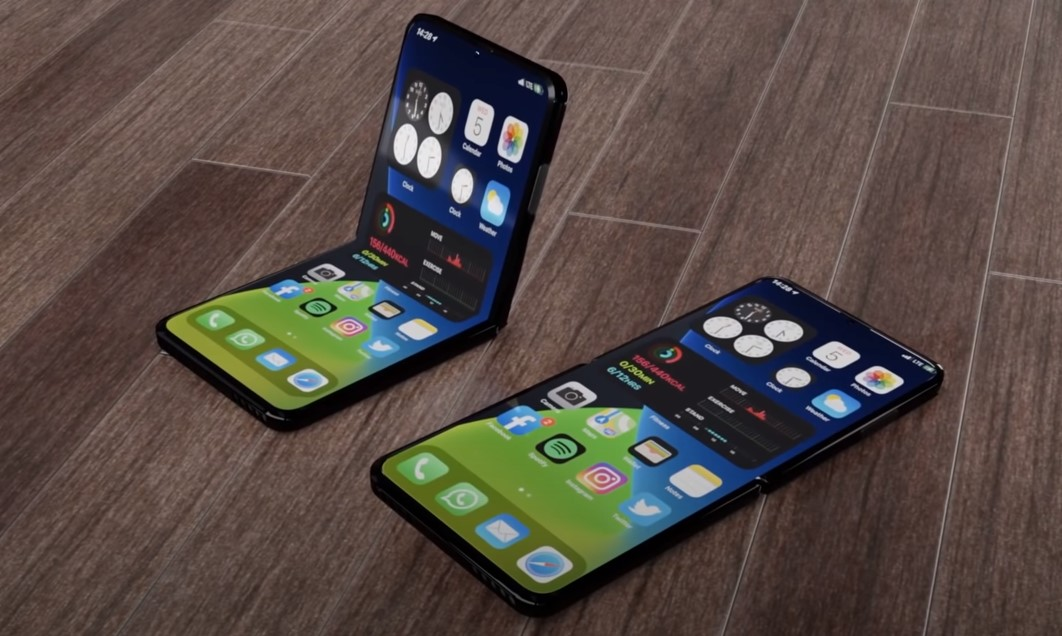 Stunning iPhone 12 Flip video reveals the foldable phone of the future   Tom's Guide