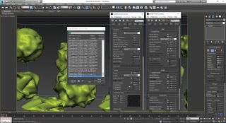 Create clouds with FumeFX: Simulation section