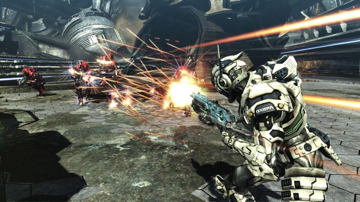 Why kneesliding shooter Vanquish is due a PS4 HD remaster  GamesRadar