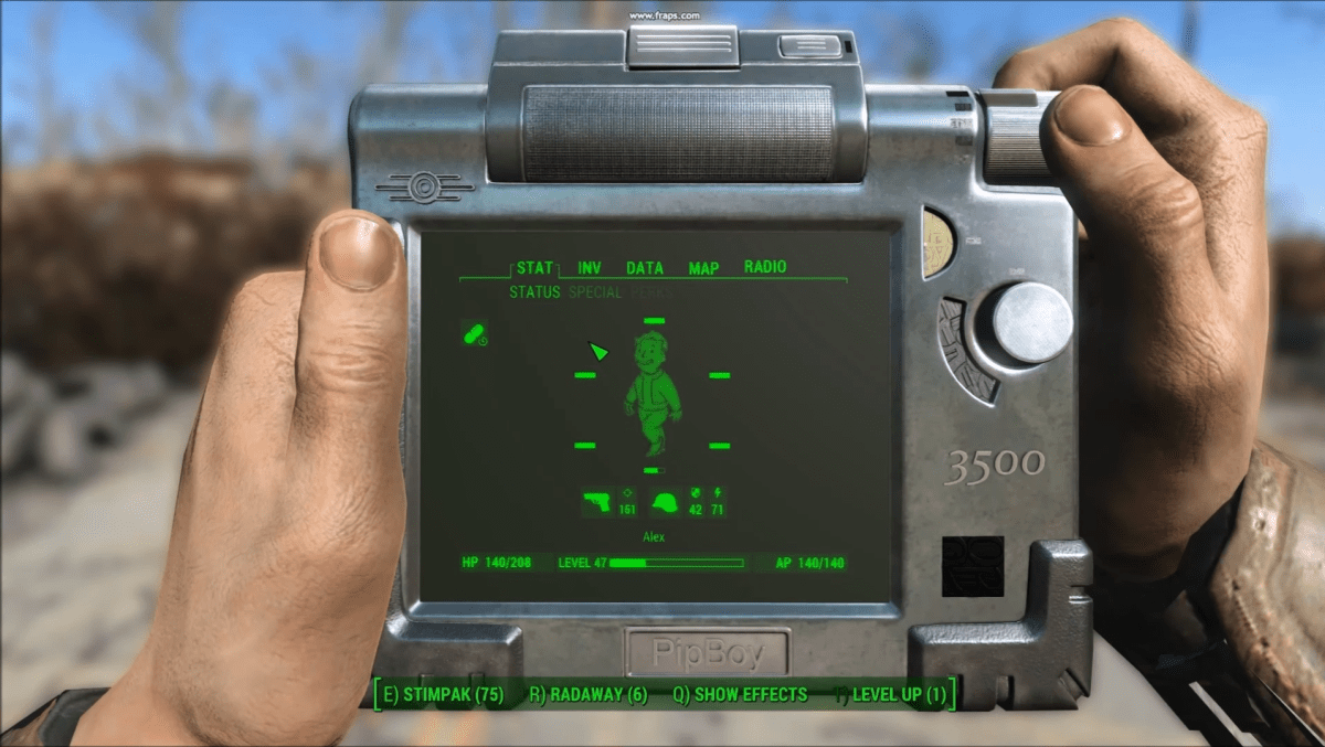 Modder Replaces Fallout 4s Pip Boy With The Pip Pad A