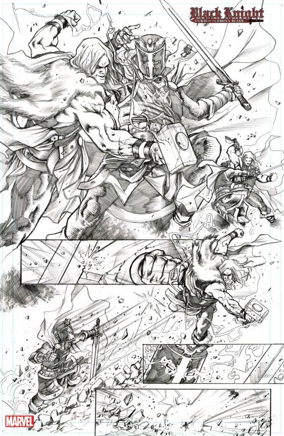 Cavaleiro Negro: Maldição da Lâmina de Ébano nº 2 e 3