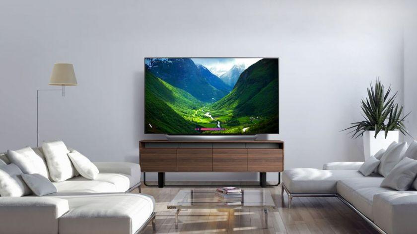 best 75-inch OLED TV: LG OLED77C8