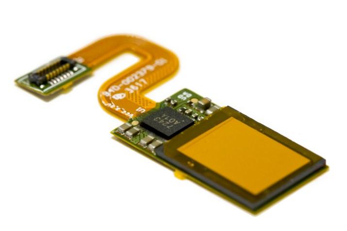 Synaptics' embedded fingerprint sensor