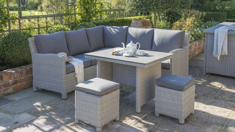 rattan table and chairs collapsible garden the best furniture real homes todo alt text
