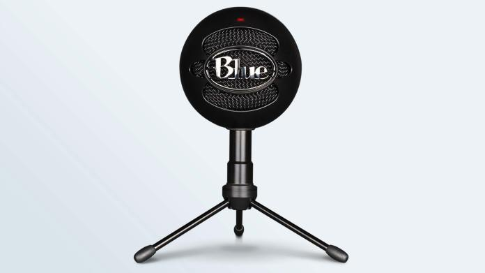 The Blue Snowball Ice positioned front and center