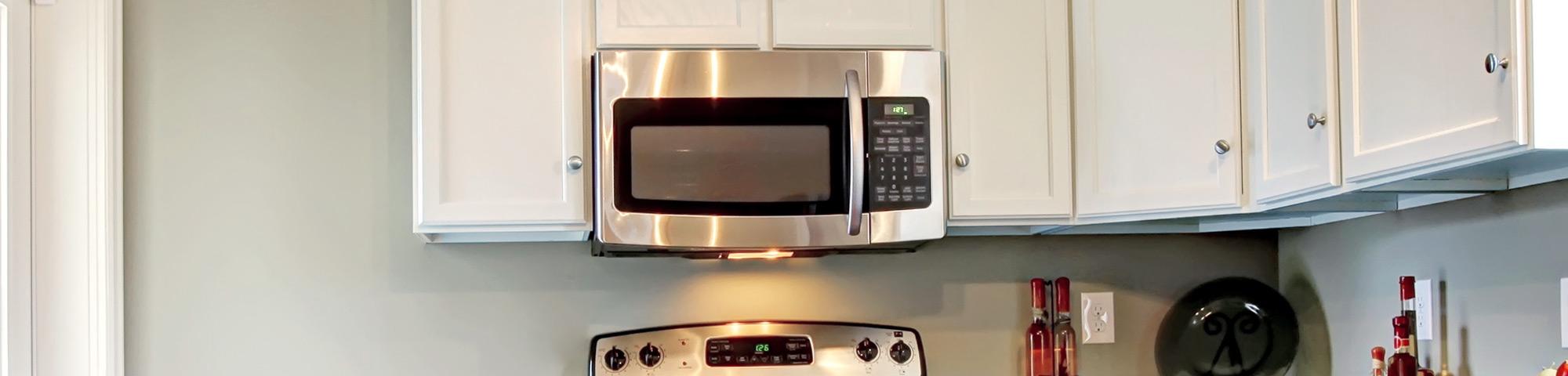 Kitchen Exhaust Fan Under Microwave