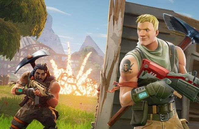 Fortnite Wallpaper Falling From The Sky Fortnite Battle Royale Wants To Be Pubg More Than