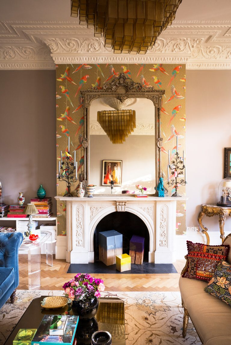Living Room Wallpaper Ideas From Contemporary To Chintz Livingetc