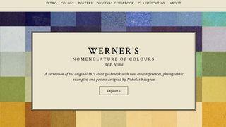 Werner's Nomenclature of Colours