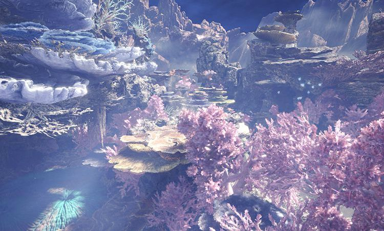 Indie Wallpaper Hd Monster Hunter World Shows Off Gorgeous Coral Highlands
