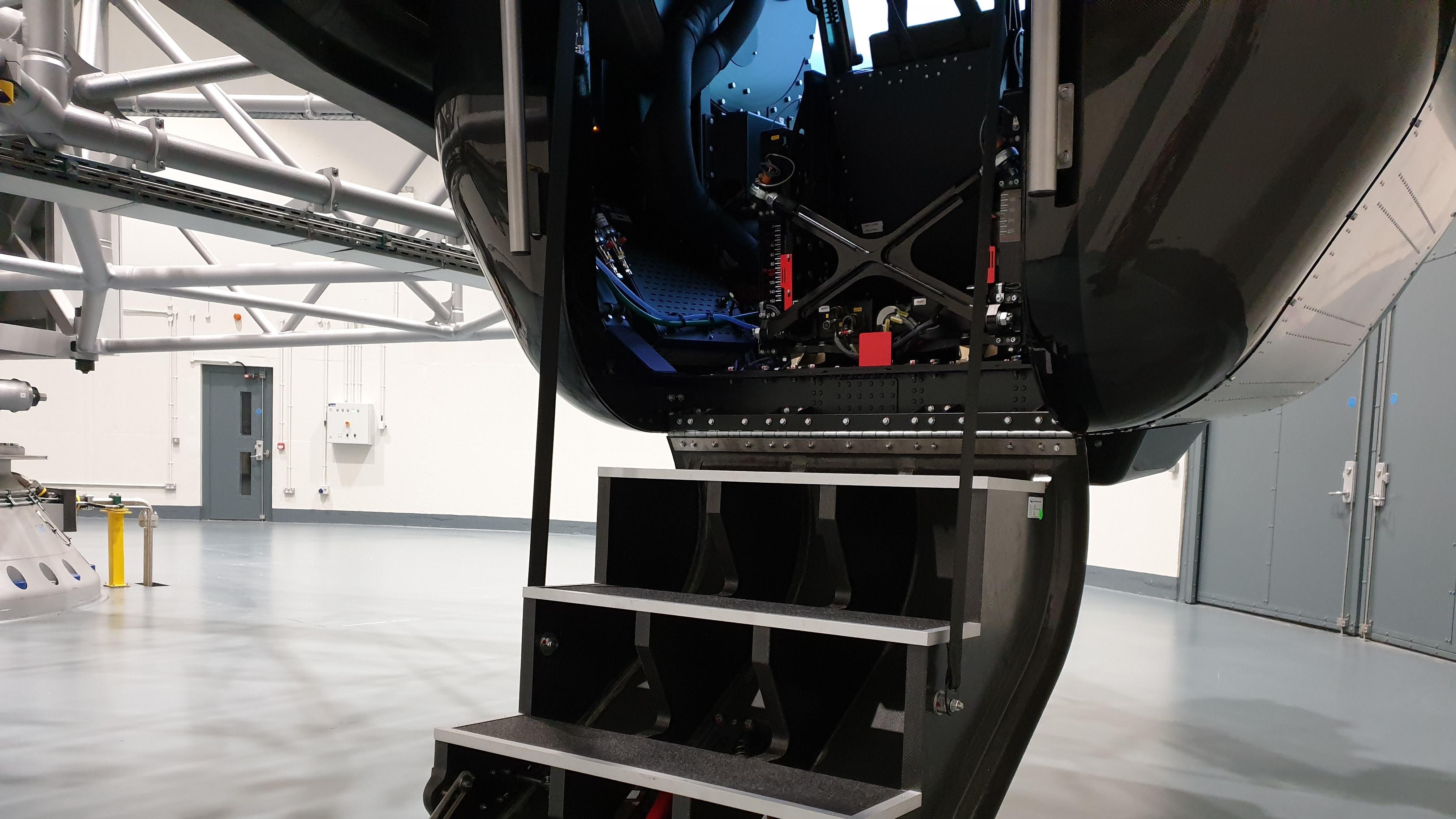 High-G Training Facility gondola