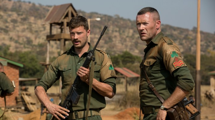 Jamie Dornan, Jason O'Mara in The Seige of Jadotville one of the best war movies on Netflix