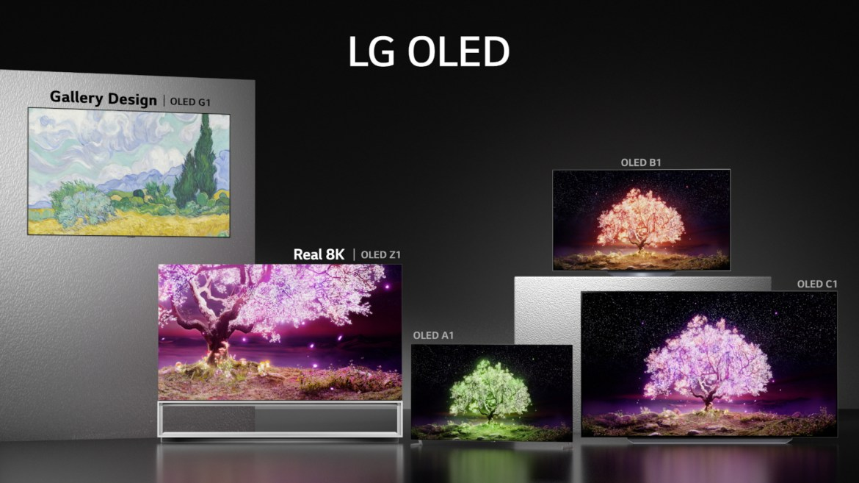 LG 2021 OLED TV lineup