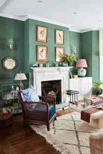 20 Green Living Room Ideas Pretty Ways To Use This Stylish Shade Real Homes