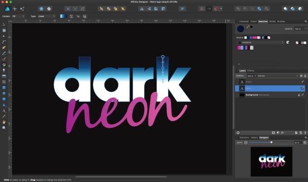 RV2pT4Pen7iBLdZShXfHtQ How to create a retro logo with Affinity Designer Random
