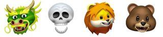 Les quatre nouveaux masques Animoji qu'Apple a ajoutés à iOS 11 3