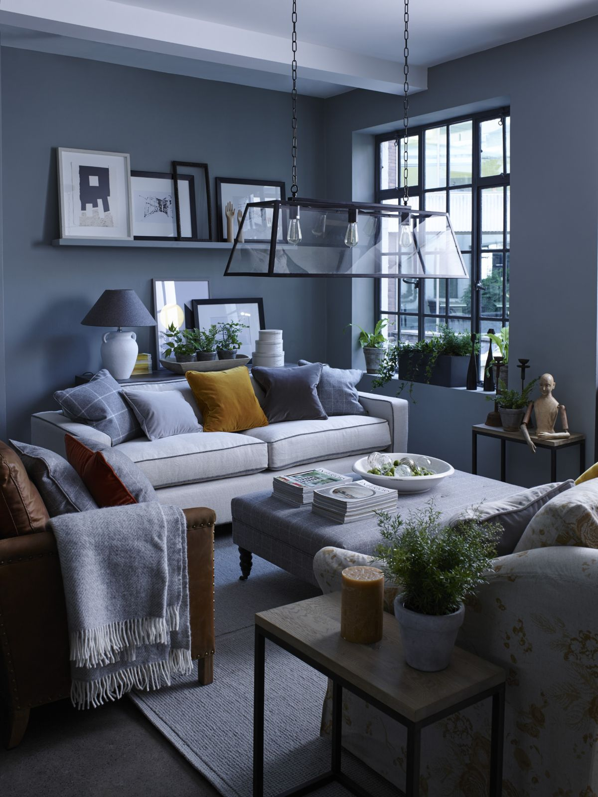 Decorating a small home might seem like a bit of a challenge at first. Grey living room ideas: 35 ways to use Pinterest's ...