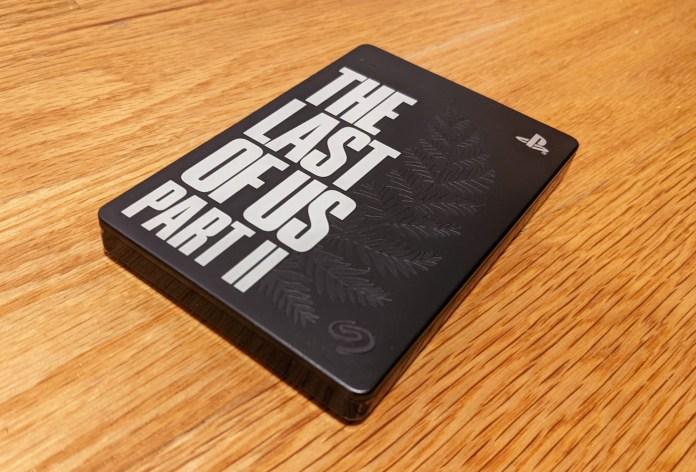Best PS5 external hard drives: Seagate Last of Us II
