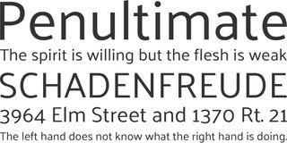 Palanquin free web font