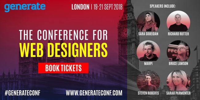 Generate - the conference for web designers