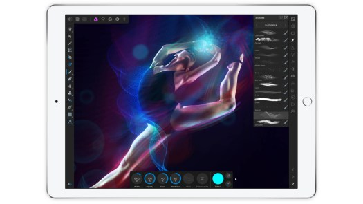 Affinity photo editing software