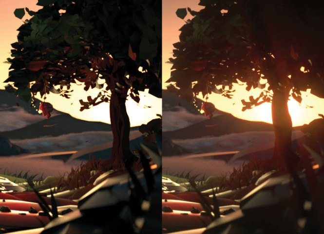 Level up your VR art: Post-process