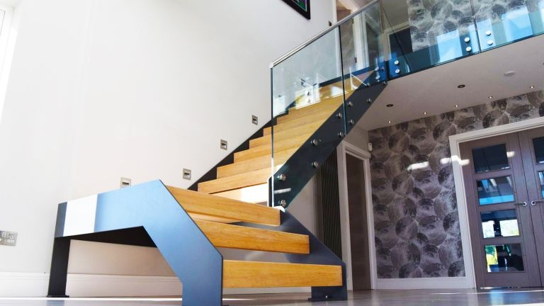 Staircase Renovation How To Design A Staircase Real Homes   Steel Design For Stairs   Spiral   Elegant Steel   Architectural Steel   Simple   Stringer