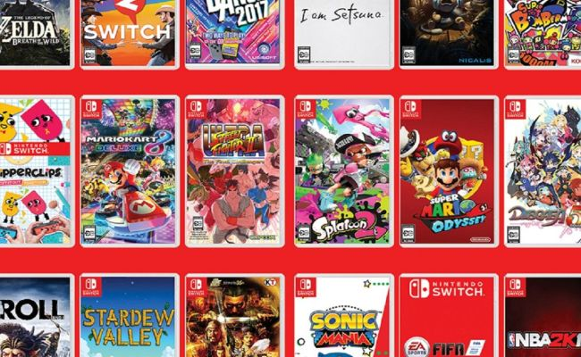 Every Nintendo Switch Game In The Cyber Monday 2018 Sales