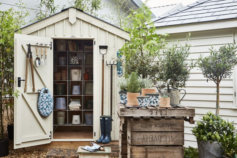 12 Shed Storage Ideas How To Master Your Garden Shed Storage Real Homes
