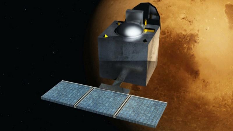 Image of ISRO Mars Orbiter Mission 2