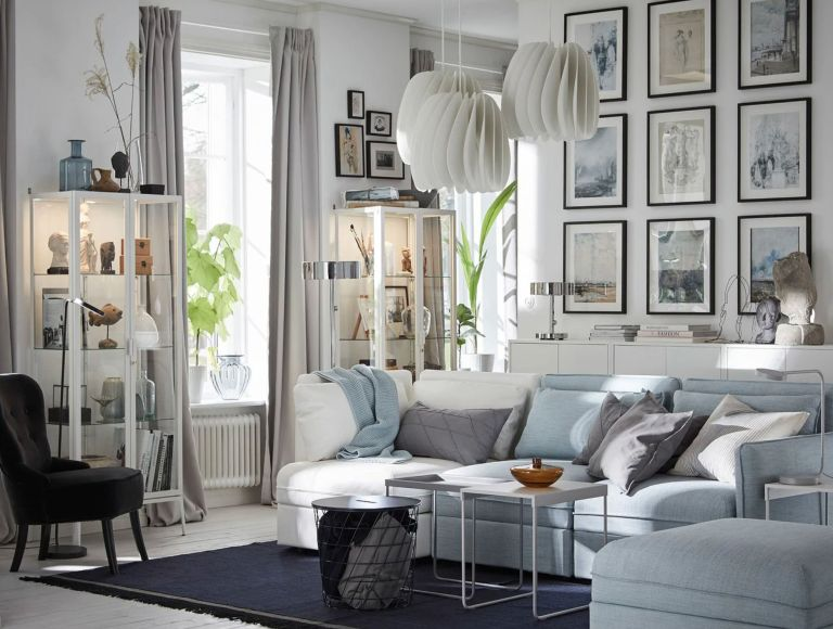 window dressing ideas for living rooms