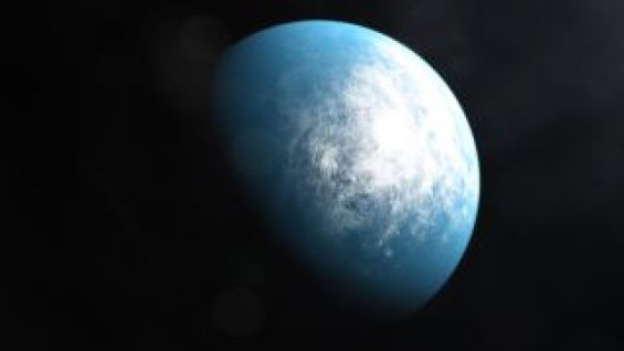 An artist's depiction of the planet TOI 700 d.