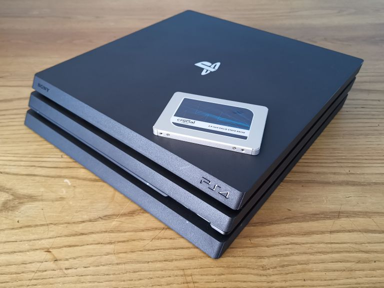 ps4 pro ssd upgrade