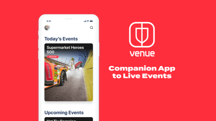 facebook takes on twitter with 'venue', an app for live events | techradar