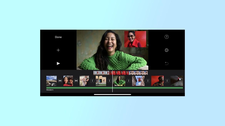 best video editing apps: iMovie
