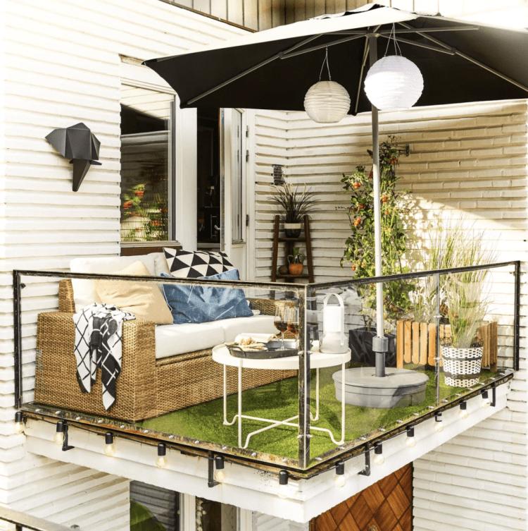 Balcony Ideas 15 Ways To Max Your Tiny Terrace Real Homes