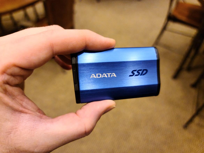 Best external hard drives: Adata SE800 External SSD Ultra Fast (1TB)
