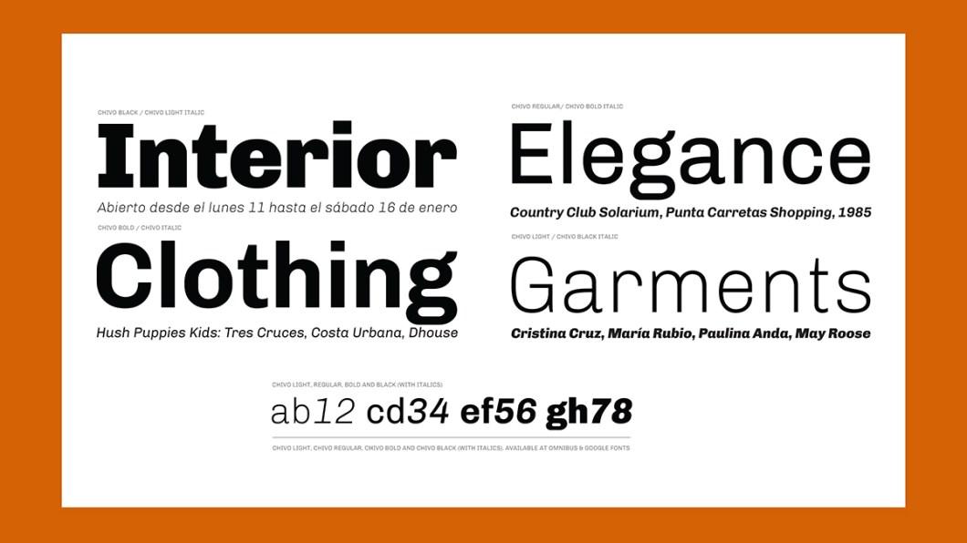 Free fonts Fabrica