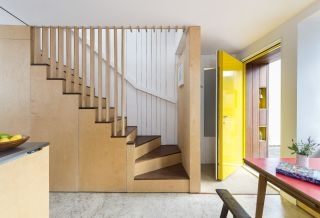 Staircase Design Ideas For A Welcoming Home Homebuilding | Creative Stairs For Small Spaces | Build In Storage | Compact | Interior | Round Shape | Wooden