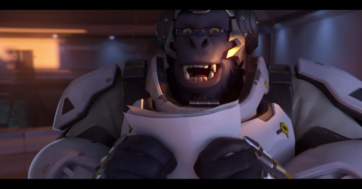 Indie Wallpaper Hd Winston Makes A Video For The Incoming Overwatch Beta Pc