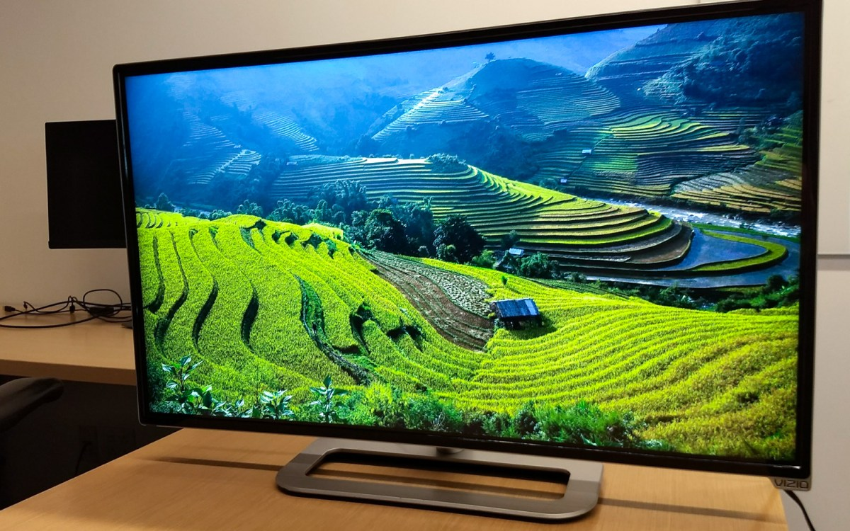 Google Chromecast hides behind TVs and its desktop backgrounds are neat