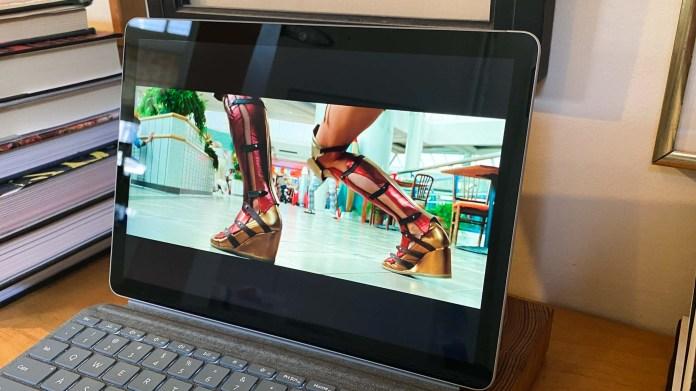 surface go 2 vs ipad: Microsoft Surface Go 2 display