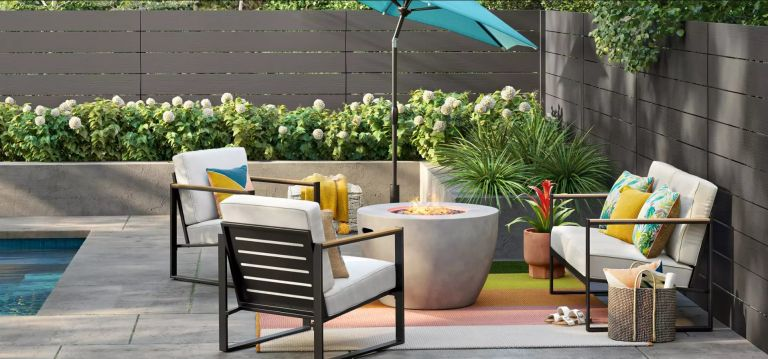 5 super stylish target patio sets on
