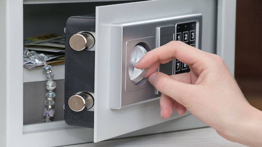What can you store in a safe?