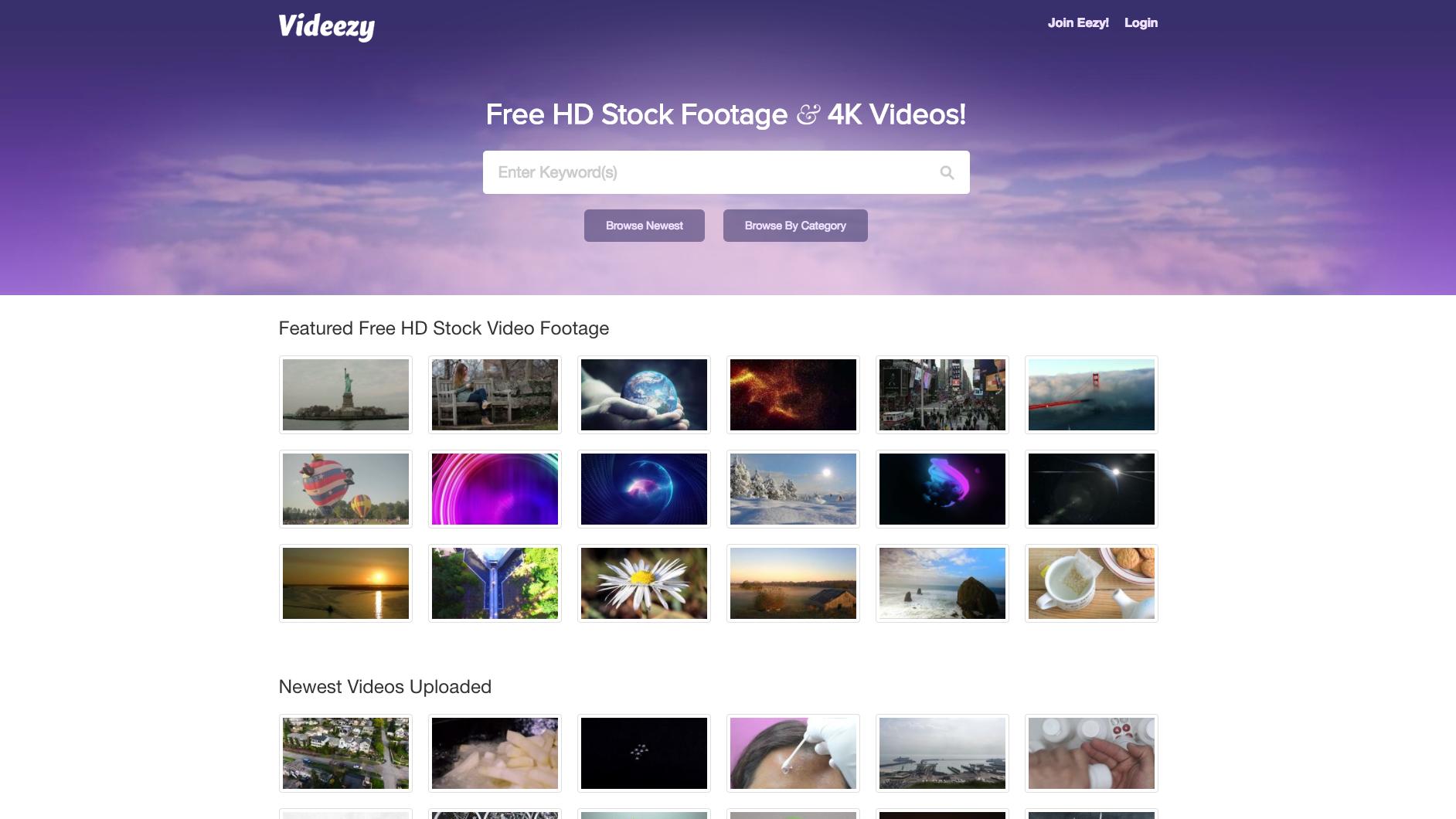 Videezy screen grab