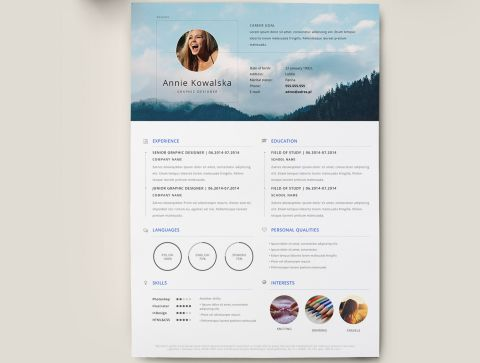 Vcard resume html template is a good idea special for you. The Best Free Resume Templates Creative Bloq