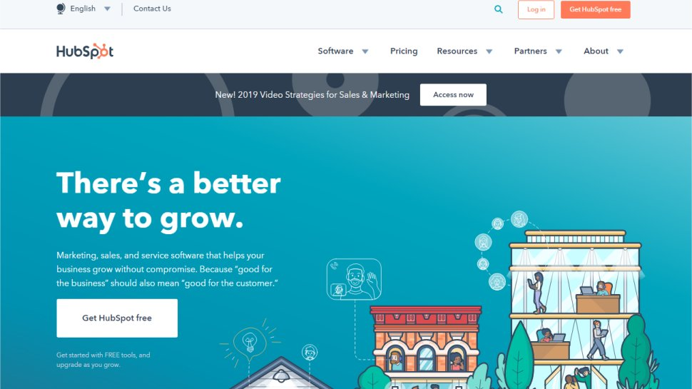 Hubspot - The sales and marketing content platform