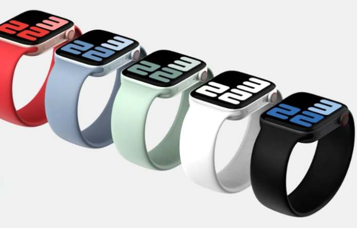 A render of what the Apple Watch 8 might look like