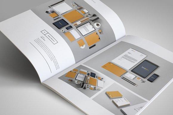 Best brochure templates: graphic design portfolio brochure